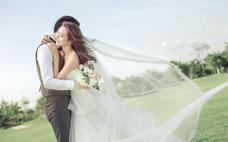 草坪《田园自然风》韩式婚纱照