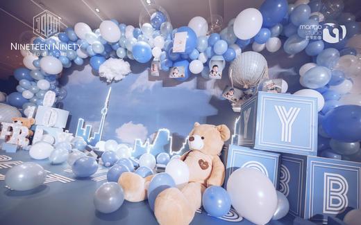 【1990婚礼企划】蓝色时尚-Blove蓝宝宝宴