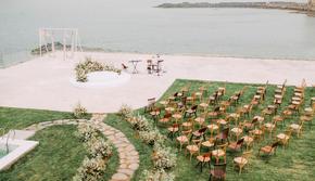 【左一知道】  50-100人海边海岛草坪婚礼