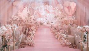 【喜堂婚礼】粉色马卡龙婚礼送四大金刚送即影即有