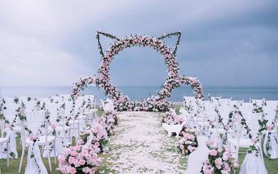 三亚蔷薇婚礼 —【猫咪】