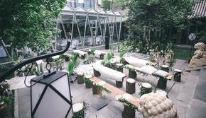 【满庭花盛】户外庭院鲜花设计~