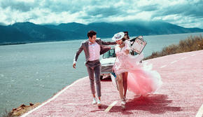 一价全包【大理丽江】双城任选4天酒店送婚纱微视频