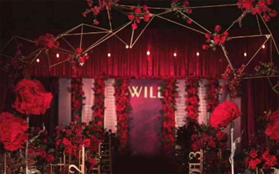 轻奢定制婚礼---红色复古