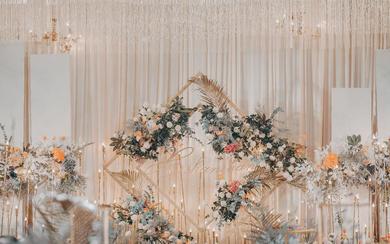 【叁契婚礼】 非凡大气/香槟色
