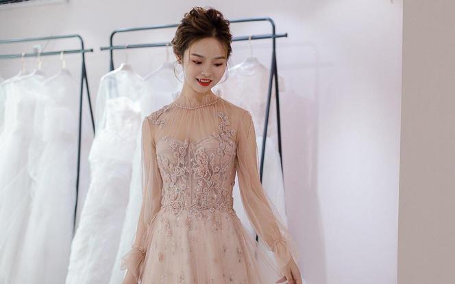 【喜棠婚纱礼服】2020新款系列#敬酒服#