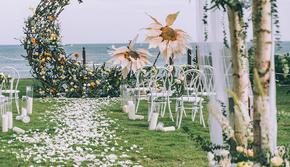 THEMOON丨DreamPark·海岛清新婚礼