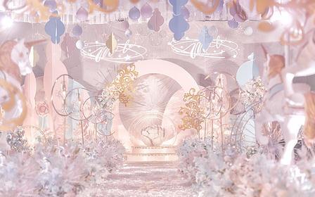 古摄影红绣球婚礼---粉色梦幻