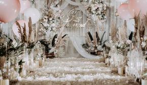 【亲民低价】清新简约|香槟色浪漫婚礼+超高性价比