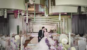 2020超级流行的莫兰迪色系婚礼!