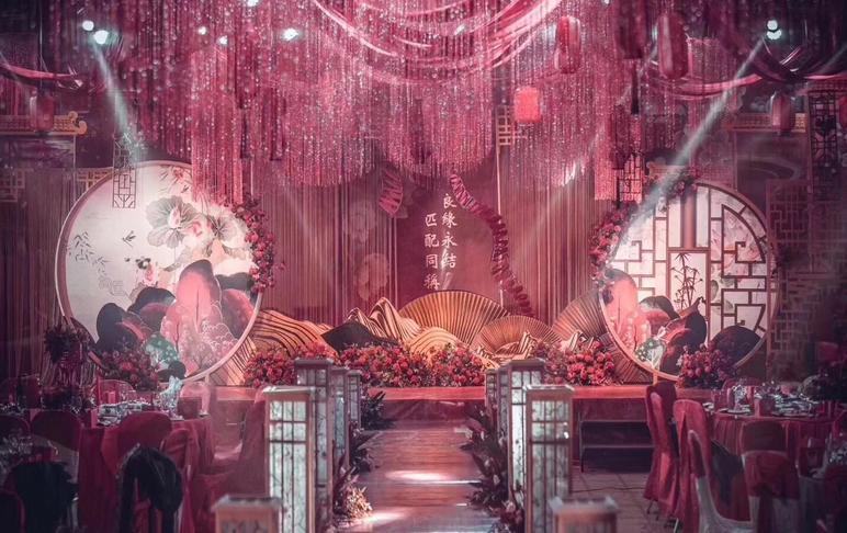 〖暮·晓〗-全新新中式婚礼(含花艺)