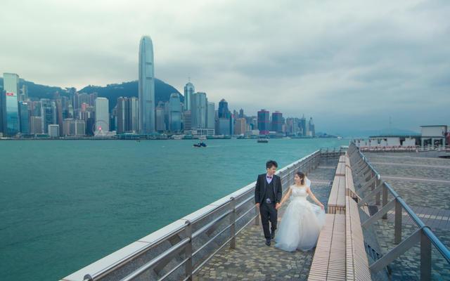 资深摄影师 香港领证+外拍