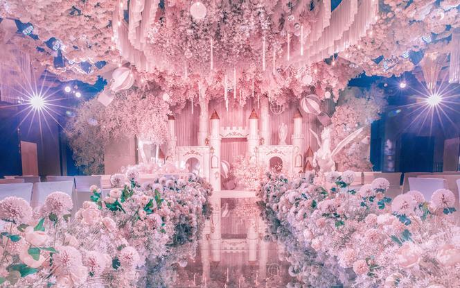 高端定制【爱森堡●婚礼宴会厅】一价全包