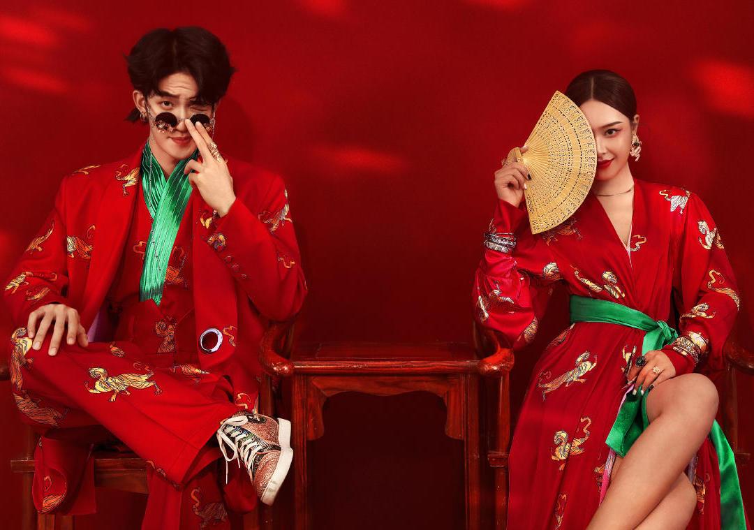 经典爆款《国潮》系列火遍全网婚纱照