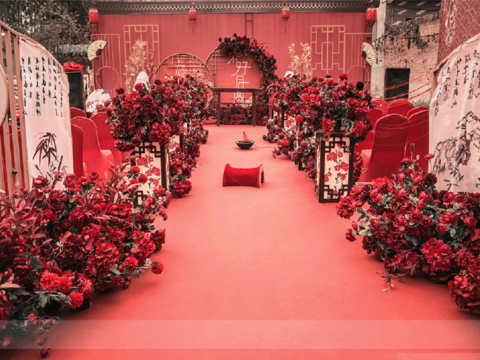 【一价全包+农村户外婚礼】中式/农村户外婚礼