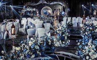 双12预热』大气吊顶+花艺设计+效果满分个性婚礼