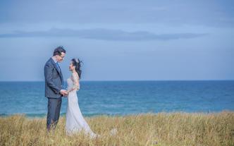 三亚婚礼摄影总监双机位婚礼现场跟拍照片
