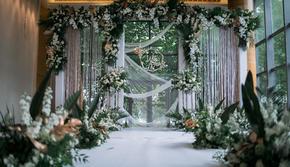 【大眼婚礼策划 】小清新绿色婚礼