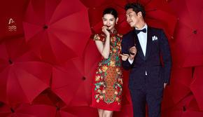 不敢相信,这样的中式婚纱照拍得比明星更美