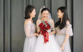木九摄影工作室资深摄影师婚礼全天跟拍