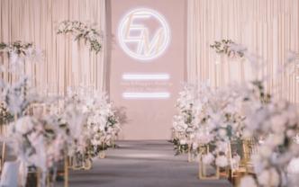 铂尔曼婚礼 | 甜而不腻的千禧粉温柔风——邂逅