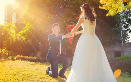 【求婚】双机位拍摄丨光和映像婚礼电影
