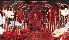 【夏威夷】红金风格婚礼--以爱之名