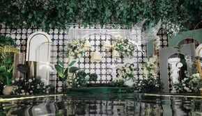 晞爱策划丨白绿唯美婚礼《星辰》