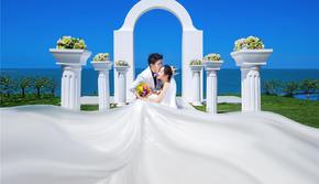 【北海海景婚纱照】赠送游艇拍摄/不满意无条件重拍