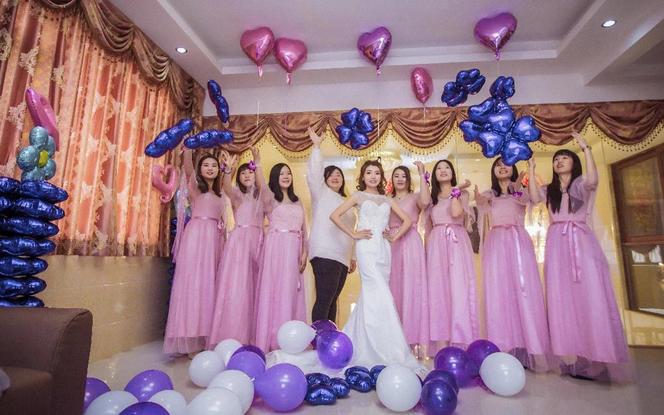 婚礼摄影(单机)+录像(单机)全程跟拍