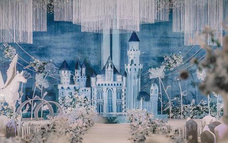 【莫奈婚礼-静谧蓝】小众色静谧蓝,素雅清新又神秘