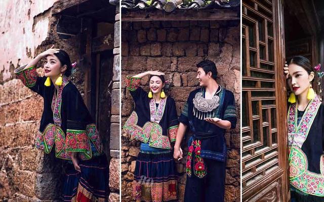 凯里蝴蝶树婚纱摄影之民族风