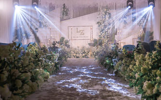 【暑期专享】小清新婚礼之选 全场布置私人订制
