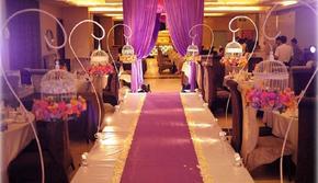 完美婚典-雍容典雅的紫色主题婚礼