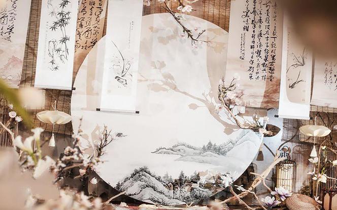 逆光婚礼—网红水墨中国风