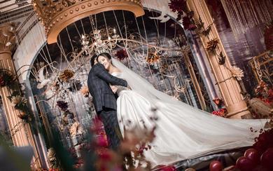潘&林,首席单机位婚礼当天案例·艾伦映画