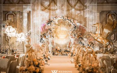 欧式宫廷主题婚礼-【流金岁月】