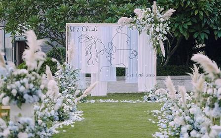 户外草坪婚礼,一站式全包