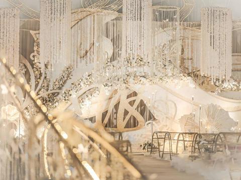 潮婚节专享【无敌的好评如潮,香槟金大气】暖暖。