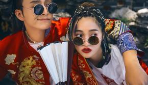 「新中式」一对一定制的必拍婚纱照