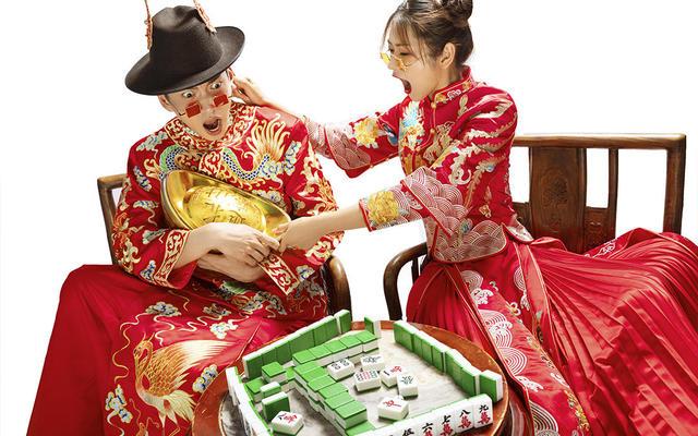 欢乐中国风『水晶之恋婚纱摄影』