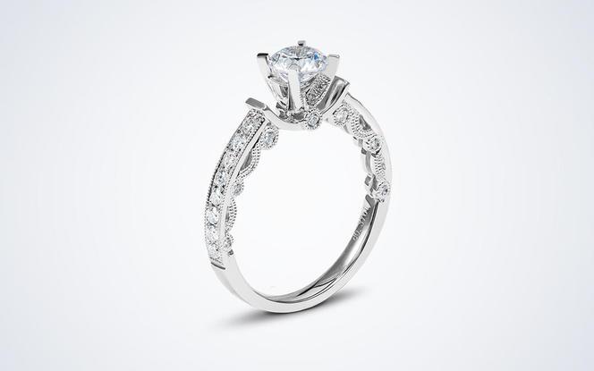 梵尼洛芙-云纱 原创独立设计款结婚求婚钻戒