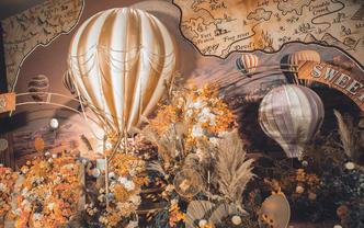 【伯妮】热气球元素创意主题婚礼