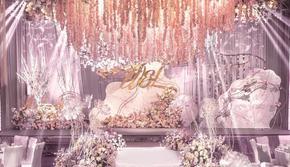 【唯美嫁期】全都有套系轻奢布置+四大+T台+灯光