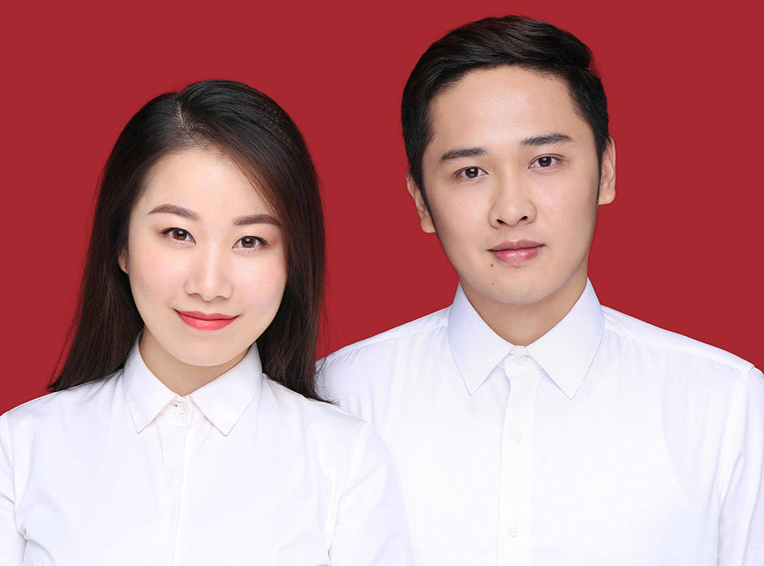 网红爆款结婚登记照   贺州古摄影