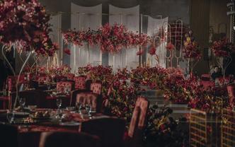 丰大国际·简约红色婚礼【陌上花】