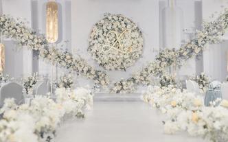 微致婚礼丨清新白绿小型婚礼首选