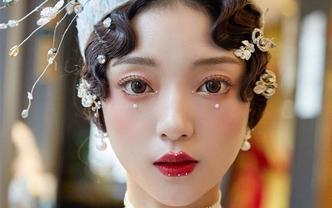 黄金档期高级化妆团队全天跟妆【现在预订送亲友妆】