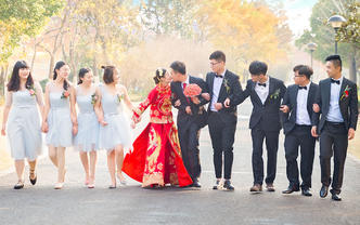 形影不离婚礼摄影摄像专业单机位个人定制可组双机位