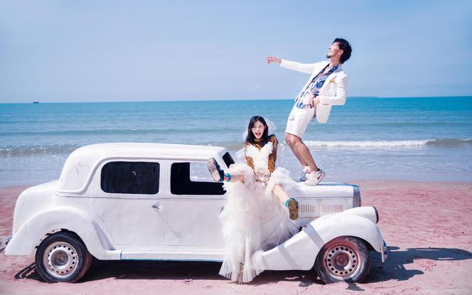 【三亚旅拍】一价全包+三天两晚+产品包邮+送婚纱